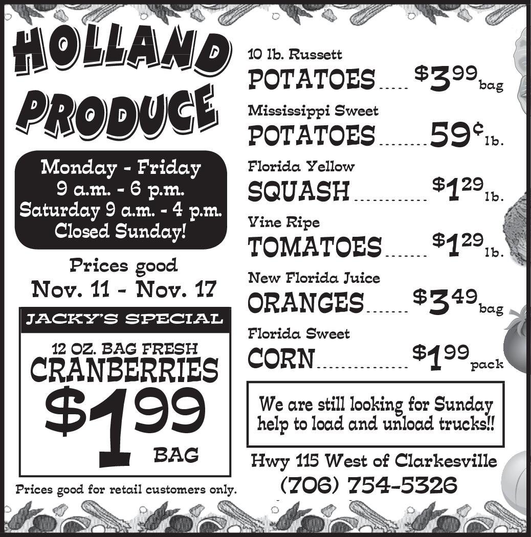 Florida Sweet Corn In Clarkesville Ga Grocery Stores Markets Holland Produce