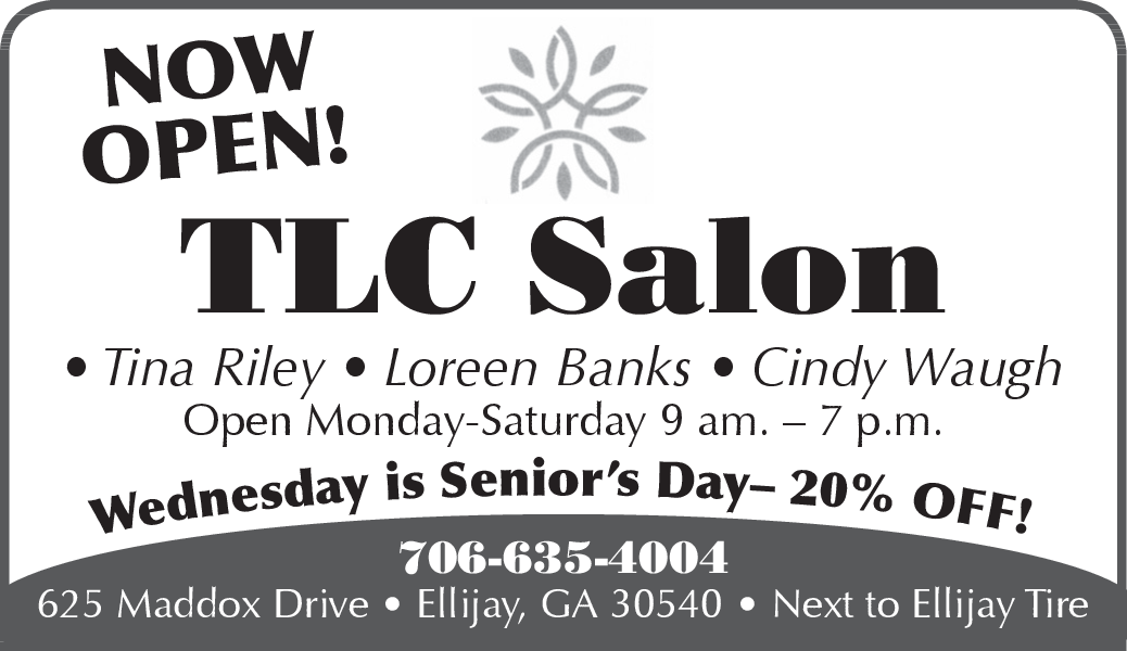now open salon with good discount rates in ellijay ga spa beauty tlc salon mercolocal times courier