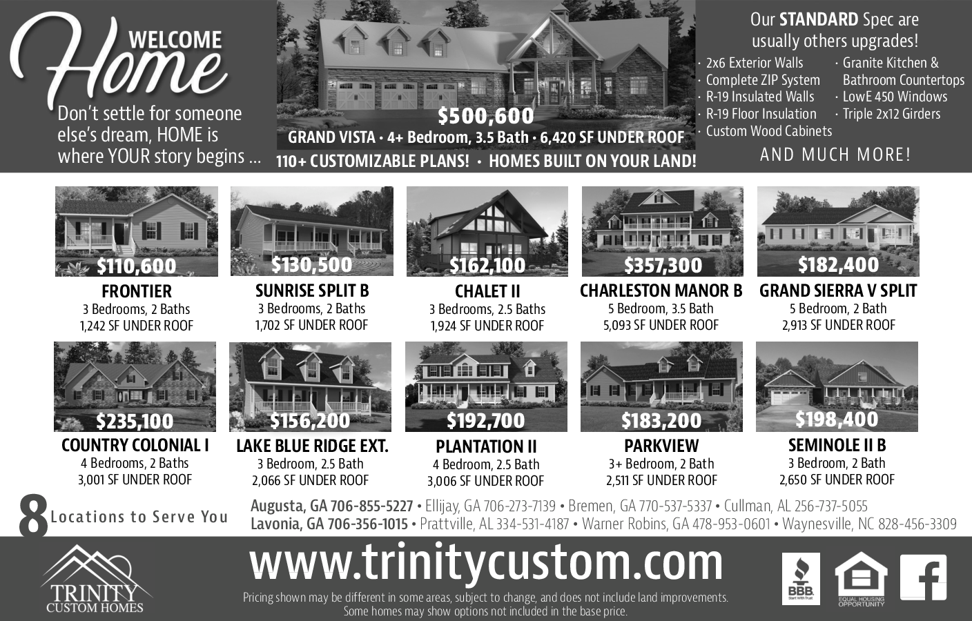 Beautiful Homes Listing In Augusta Ga Construction Services