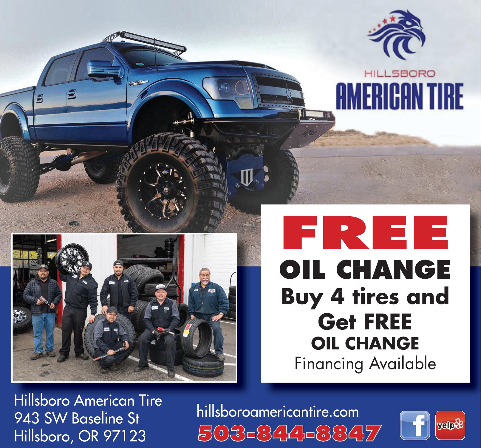 American Tire And Auto >> Free Oil Change Service In Hillsboro Or Auto Dealerships