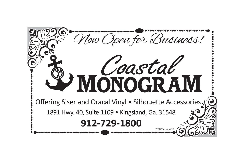 Graphic Designer Services In Kingsland Ga Graphic Design Web Design Services Coastal Monogram