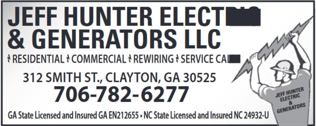 Electrical Equipment In Clayton Ga