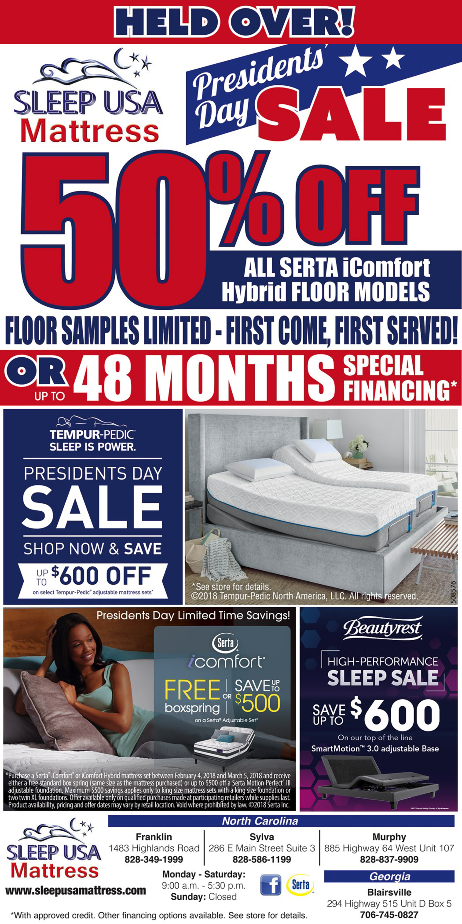 President Day S Sale 50 Off By Sleep Usa Mattress In Franklin