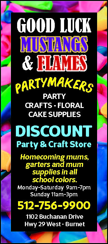 Discount Party Craft Store In Burnet Texas